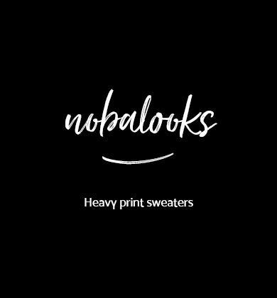 Heavy Print Sweaters