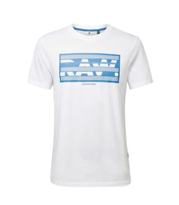 G-Star Heren t-shirt Wit korte mouw