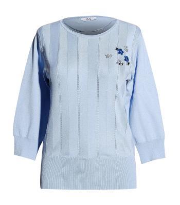 Vila Joy Dames pull Blauw