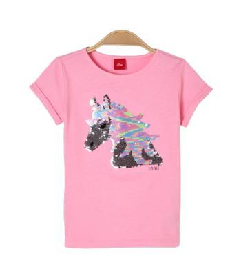 S.Oliver Kids Kids t-shirt Roze korte mouw