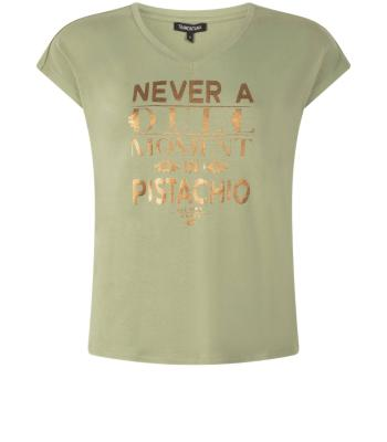 Tramontana Dames t-shirt Groen zonder mouw