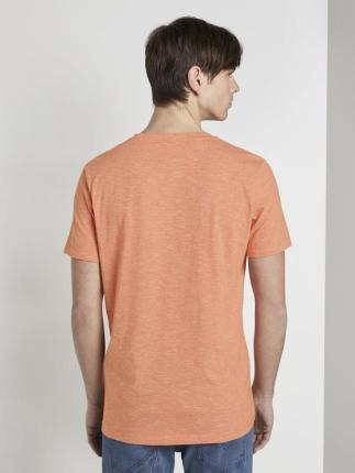Tom Tailor Heren t-shirt Roze korte mouw