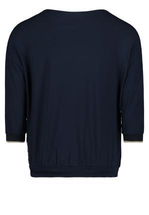 Betty Barclay Dames t-shirt Blauw 3/4-mouw