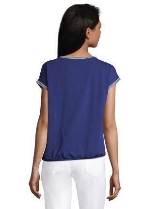 Betty Barclay Dames t-shirt Blauw zonder mouw
