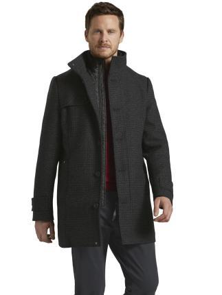 Tom Tailor Heren mantel Grijs