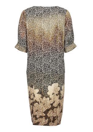 Geisha Dames jurk Beige