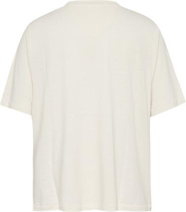 Tommy Hilfiger Dames t-shirt Beige korte mouw