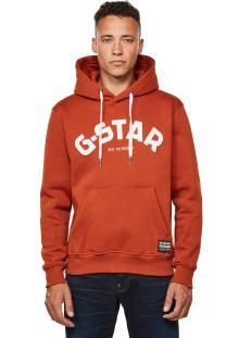G-Star Heren sweater Oranje