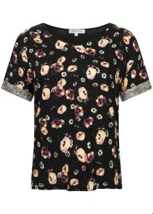 Tramontana Dames t-shirt Zwart korte mouw