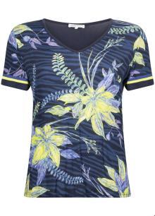 Tramontana Dames t-shirt Blauw korte mouw