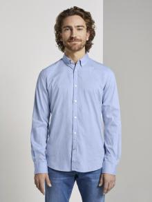 Tom Tailor Heren hemd Blauw