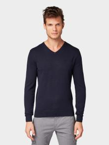 Tom Tailor Heren pull Blauw
