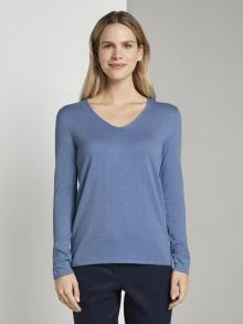 Tom Tailor Dames pull Blauw