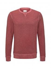 Tom Tailor Heren sweater Rood