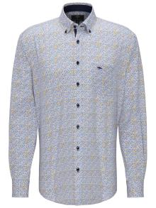 Fynch-Hatton Heren hemd Blauw
