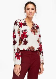 S.Oliver Premium Dames hemdsbloes Ecru