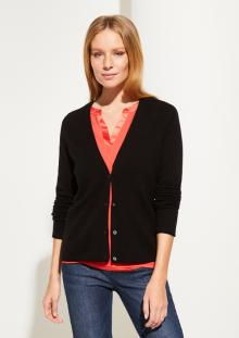 Comma by s.Oliver Dames vest Zwart