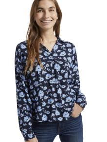 Tom Tailor Dames hemdsbloes Blauw