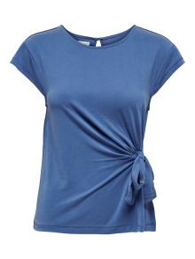 ONLY Dames t-shirt Blauw korte mouw