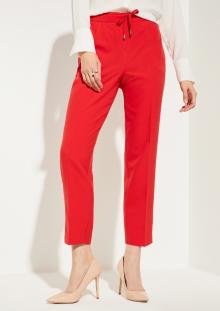 Comma by s.Oliver Dames broek Rood