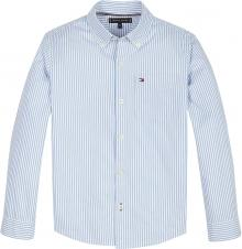 Tommy Hilfiger Kids hemd Wit lange mouw