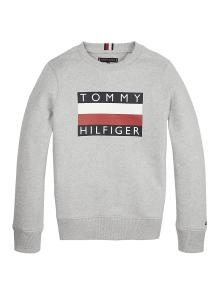 Tommy Hilfiger Kids sweater Grijs