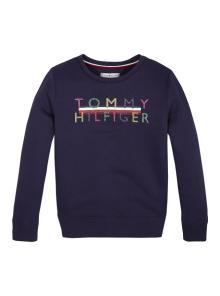 Tommy Hilfiger Kids sweater Blauw