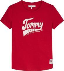 Tommy Hilfiger Kids t-shirt Rood korte mouw