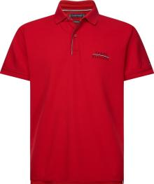 Tommy Hilfiger Heren Polo Rood korte mouw
