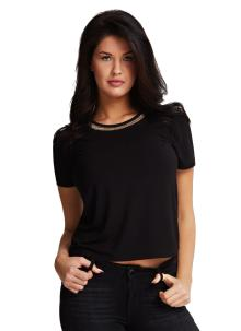 GUESS Dames t-shirt Zwart