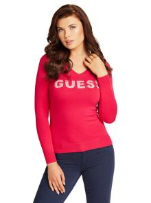 GUESS Dames pull Roze