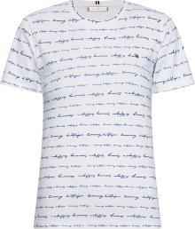 Tommy Hilfiger Dames t-shirt Wit korte mouw