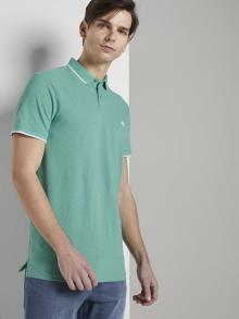 Tom Tailor Heren Polo Groen korte mouw