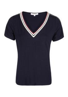 Morgan Dames t-shirt Blauw korte mouw
