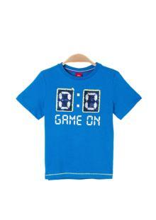 S.Oliver Kids Kids t-shirt Blauw korte mouw