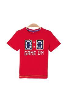 S.Oliver Kids Kids t-shirt Rood korte mouw