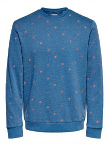 Only & Sons Heren sweater Blauw