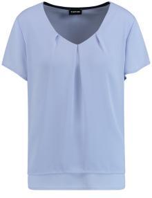 Taifun Dames t-shirt Blauw korte mouw