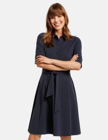 Taifun Dames jurk Blauw