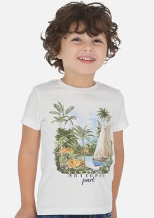 Mayoral Kids t-shirt Wit korte mouw