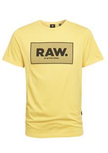 G-Star Heren t-shirt Geel korte mouw