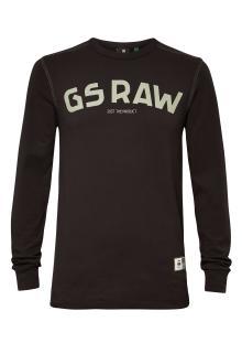 G-Star Heren t-shirt Zwart lange mouw