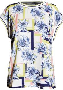 Vila Joy Dames t-shirt Ecru korte mouw