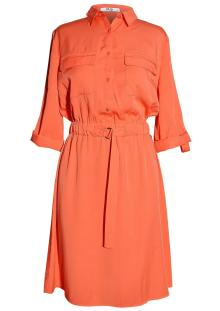 Vila Joy Dames jurk Rood