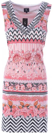 K-design Dames jurk Roze