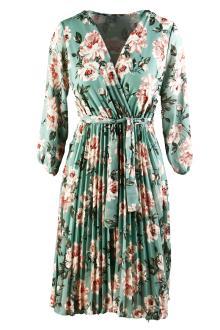 Dazzling Dames jurk Groen