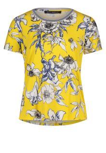 Betty Barclay Dames t-shirt Geel korte mouw