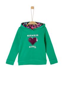 S.Oliver Kids Kids sweater Groen