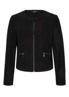 S.Oliver Premium Dames blouson Zwart