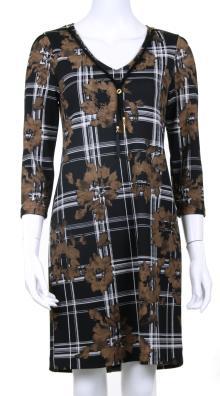 Batida Dames jurk Zwart 3/4-mouw